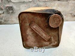 1920s Vintage Rare Gargoyle Mobiloil C For Gears Oil Tin Can Automobile Tin USA