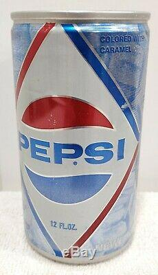 1967 All Aluminum Pepsi Diamond Logo Transitional Soda Can Pepsico VERY RARE
