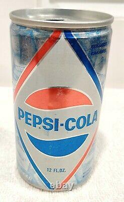 1967 New All Aluminum Pepsi Diamond Logo Transitional Soda Can Pepsico VERY RARE