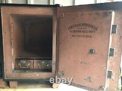 Antique Vintage Retro Victorian Rare Lingham Bros Safe Can Deliver