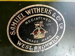 Antique Vintage Retro Victorian Rare Withers Safe Can Deliver