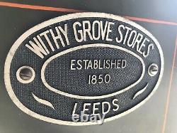 Antique Vintage Retro Victorian Rare Withy Grove Safe Can Deliver