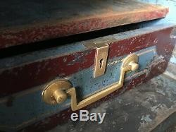 Antique Vintage Victorian Rare Cartwright Safe 5 Keys! Can Deliver