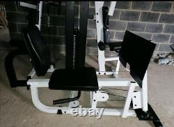 Body Solid Multi Gym 200 Kg Weights, rare hip attachment Can Deliver