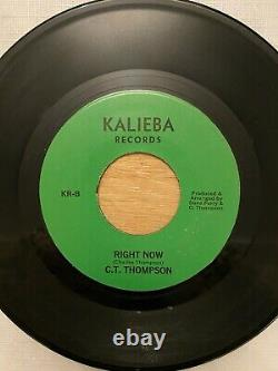 C. T. Thompson 45, Can't Live Without You rare funk modern soul ORIGINAL! Kalieba