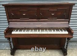 Can Deliver Rare Barley Twist Upright Piano Can Deliver
