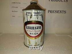 Cone top beer cans krueger quart Rare nice condition
