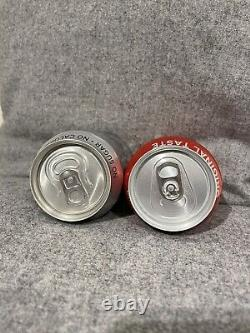 Damien Hirst Signed Rare Coca Cola Collection Regular And Diet Coke Cans
