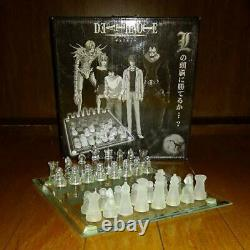 Death Note Chess set Can you beat L. JAPAN LTD Rare Anime Used Chess Game JP