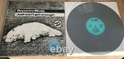 Depeche Mode Rare Just Can't Get Enough Grey Colored Vinyl 12 Records