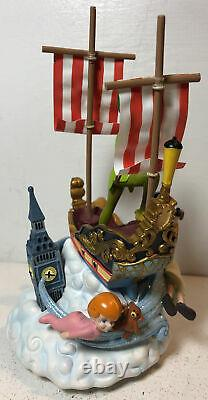 Disney Parks Musical Motion Ship I Can Fly Peter Pan Wendy John Micheal Rare