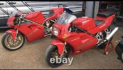 Ducati 888 851 ART Slip On Exhaust System Carbon End Can 50mm Rare