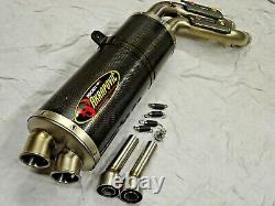 Ducati Monster S4RS later S4R Akrapovic carbon exhaust silencer end can Rare