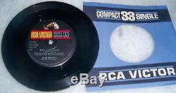 ELVIS PRESLEY Can't Help Falling In Love RCA Compact-33-Single Mega Rare OOP