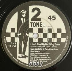 Elvis Costello -I Can't Stand Up For Falling Down- Rare Original UK 2-Tone 7