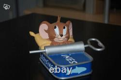 Extremely Rare! Tom and Jerry in Sardine Can Demons Merveilles Figurine Statue