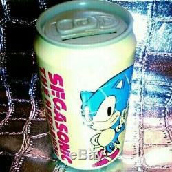 F/S Rare Sega Sonic The Hedgehog Tails Can Puzzle Piggy Bank Game Showa Retro