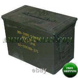 Grade 1 Fat 50 Cal Pa108 Saw Box Empty Ammunition Ammo Can. Rare