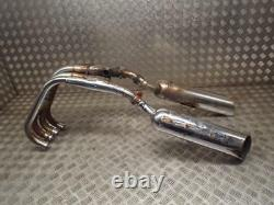 Kawasaki ZL400 ZL600 Eliminator Rare Exhaust System Downpipes Silencer End Cans
