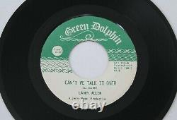 LARRY ALLEN Cant We Talk It Over 45 Green Dolphin RARE Northern Soul HEAR