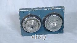 Land Rover Series IIA Fender Top Light Mounts for Bumper Mounted Jerry Cans RARE