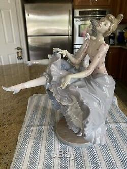 Lladro 5370 Can Can Mint Condition Very Rare