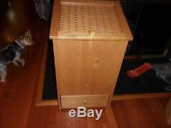 Longaberger Style Rare Potato Bin Trash Can With Drawer Purchased Homestead