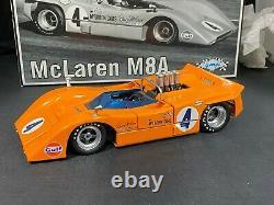 MIB Rare GMP 118 Scale Can Am McLaren M8A #4 Bruce McLaren's Car 12021