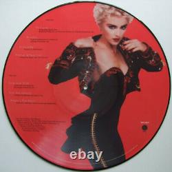 Madonna You Can Dance / Over & Over Rare 12 Picture Disc Promo LP