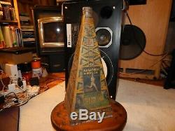 Marathon Motor Oil Company Oil Well Oil Can- Extremely Rare