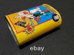 NES Nintendo Power MIKE TYSON'S PUNCH-OUT! Trash Can Promo 1988 Vintage RARE