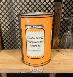 Oilzum 5 quart oil can, RARE