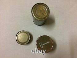 Original US 1940`s Ration Cans, unopened, rare
