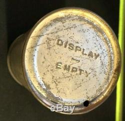 PABST BLUE RIBBON Export Tapacan Flat Top BEER DISPLAY CAN Keglined 1939 Rare