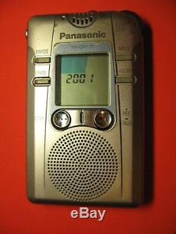 Panasonic Digital IC Recorder EVP Ghost Hunt EXTREMELY RARE Can Use With RR-DR60