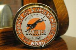 Panther Oil & Grease Co Can Fort Worth Texas RARE
