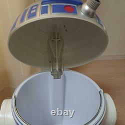 R2-D2 Dust Box Trash Size H600×W400mm Movie SUPER RARE Trash can Star