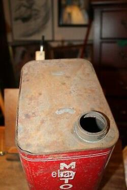 RARE 1950's CARGO Fleet Oil Company 2 Gallon Can Motor Oil LaFollette Tennessee