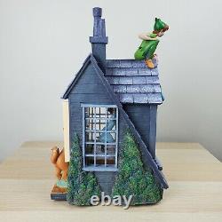 RARE Disney Peter Pan You Can Fly! Window Snow Globe Please Read Description