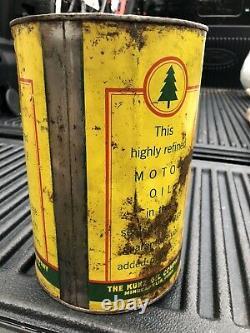 RARE KUNZ OIL CO. GOLD MEDAL OIL 5 Quart Can