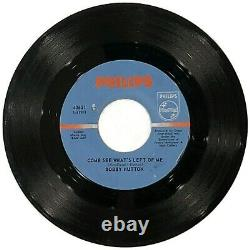 RARE SOUL Bobby Hutton Then You Can Tell Me Goodbye/Come See What's Left 45 HEAR