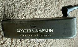 RARE Scotty Cameron Oil Can Newport Putter, 35in, Art of Putting, Circa 1998
