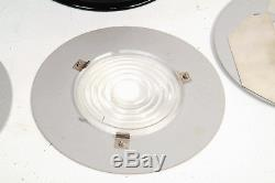 RARE Speedotron Black Line CAN SPOT Fresnel Zoom Flash Spot Light + Accessories