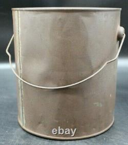 RARE THE LEIB COMPANY Co. SUN BRAND OYSTERS BALTIMORE MD GALLON TIN CAN (G2)