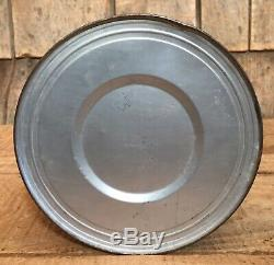 RARE Vintage AMERICAN ACE COFFEE Tin Can Country Store Display Pilot Graphic