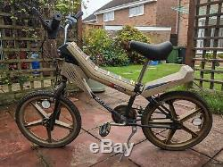 Raleigh Vektar 1980s bike RARE + Extra battery cover can deliver in Norfolk