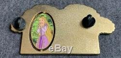 Rapunzel I Cant Believe I Did This Disney Fantasy Pin HTF Tangled Rare Spinner