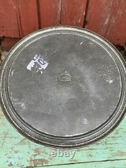 Rare Antique VTG DIXIE MAMMOTH Jumbo Blanched SALTED PEANUTS 10 LB KELLY TIN CAN