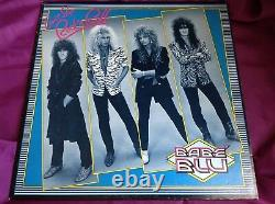 Rare Autographed Private Glam Metal LP Babe' Blu Can't Stop Rock N Roll