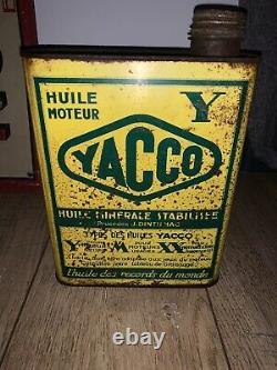 Rare Bidon Huile Yacco Croix Du Sud Oil Can Oel Döse